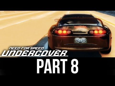 NEED FOR SPEED UNDERCOVER Gameplay Walkthrough Part 8 - SUPRA PINK SLIP
