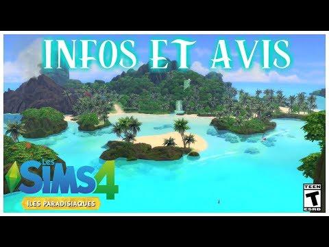 Sims 4 - Iles paradisiaques - Avis et infos Game changers