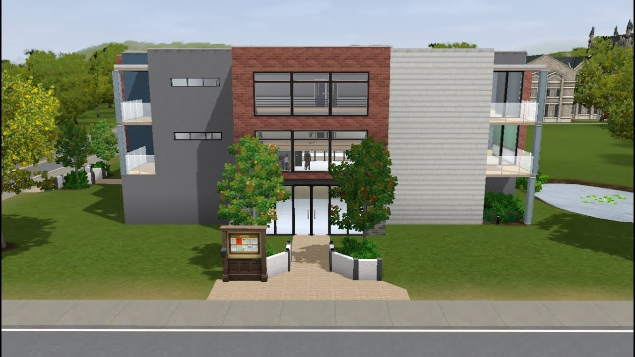 Decorating Ideas > Sims 3  Building Of Presidents Dorm  YouTube ~ 164505_Sims 3 Dorm Room Ideas