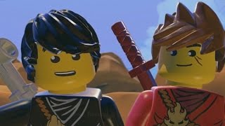 LEGO Ninjago: Shadow of Ronin Walkthrough Part 4 - The Toxic Bogs & The Skeleton Mines (3DS/Vita)
