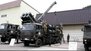 2010年6月20日 美唄駐屯地 運搬車からのミサイル積み下ろし