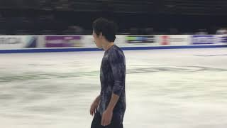 Nathan Chen FS Practice @ Skate America 2018