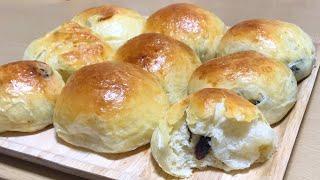 สอนทำขนมปังลูกเกด ปังนุ่มหอมอร่อยทำไม่ยาก