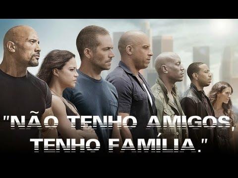 Dominic Toretto falando sobre família - YouTube