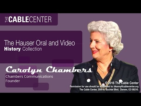 Carolyn Chambers Oral and Video History Collection 2000