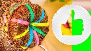 hair2pearl girls hairstyle tutorials / how to weave girls braids blog