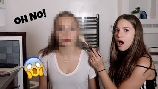 MY SISTER DOES MY MAKEUP