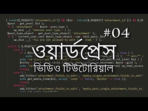 04 - New Post, Category and Tag ~ Bangla