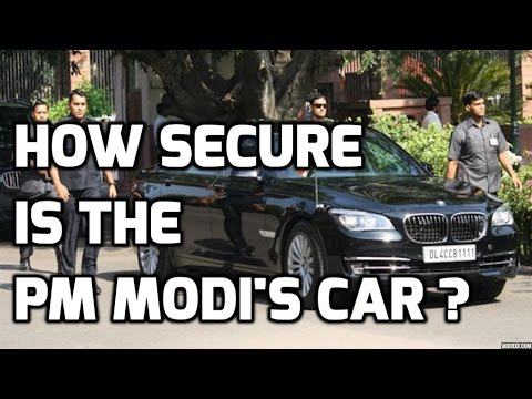 HOW SECURE IS THE PM MODI'S CAR ? TOP 5 FACTS