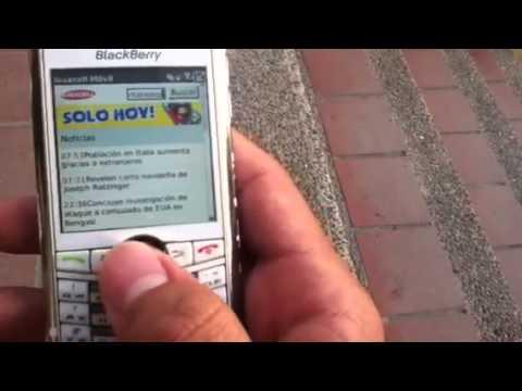 Blackberry 8100 Os 4.5 funcional