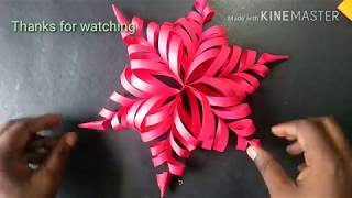 FLOWER DESIGN BY COLOR PAPER | PAPER CUTTING ART | PAPER CRAFT | RAINBOW ART | #papercuttingart