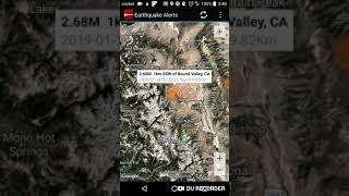 Round Valley, California Earthquake January 18th, 2019