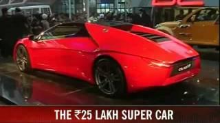 DC Avanti 2013 - First Indian SuperCar by DC Design Videos