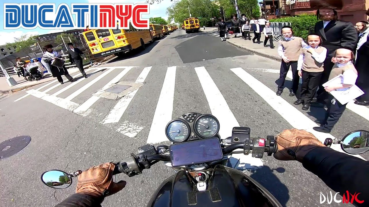 a FAILED social experiment in patience - brooklyn local ride - ducati nyc vlog v1462
