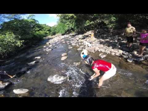 La declaracion de Nallely a Nano. Pescando en el rio con Nano y Don Pollo Parte 5/8