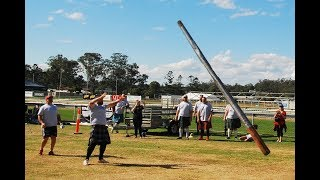 Caber Throw / Toss :  Highland Games Event, The Gathering