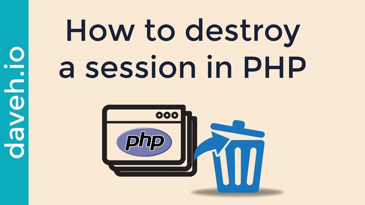 session destroy