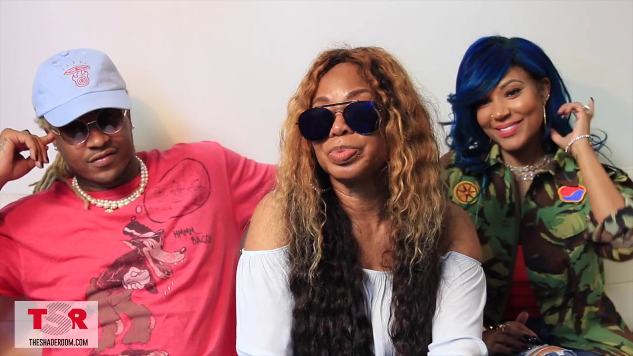 lhhh's lyrica anderson, a1 bentley & lyrica g step into the shade