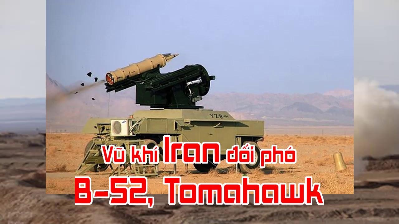 Vũ khí Iran đối phó B 52, Tomahawk
