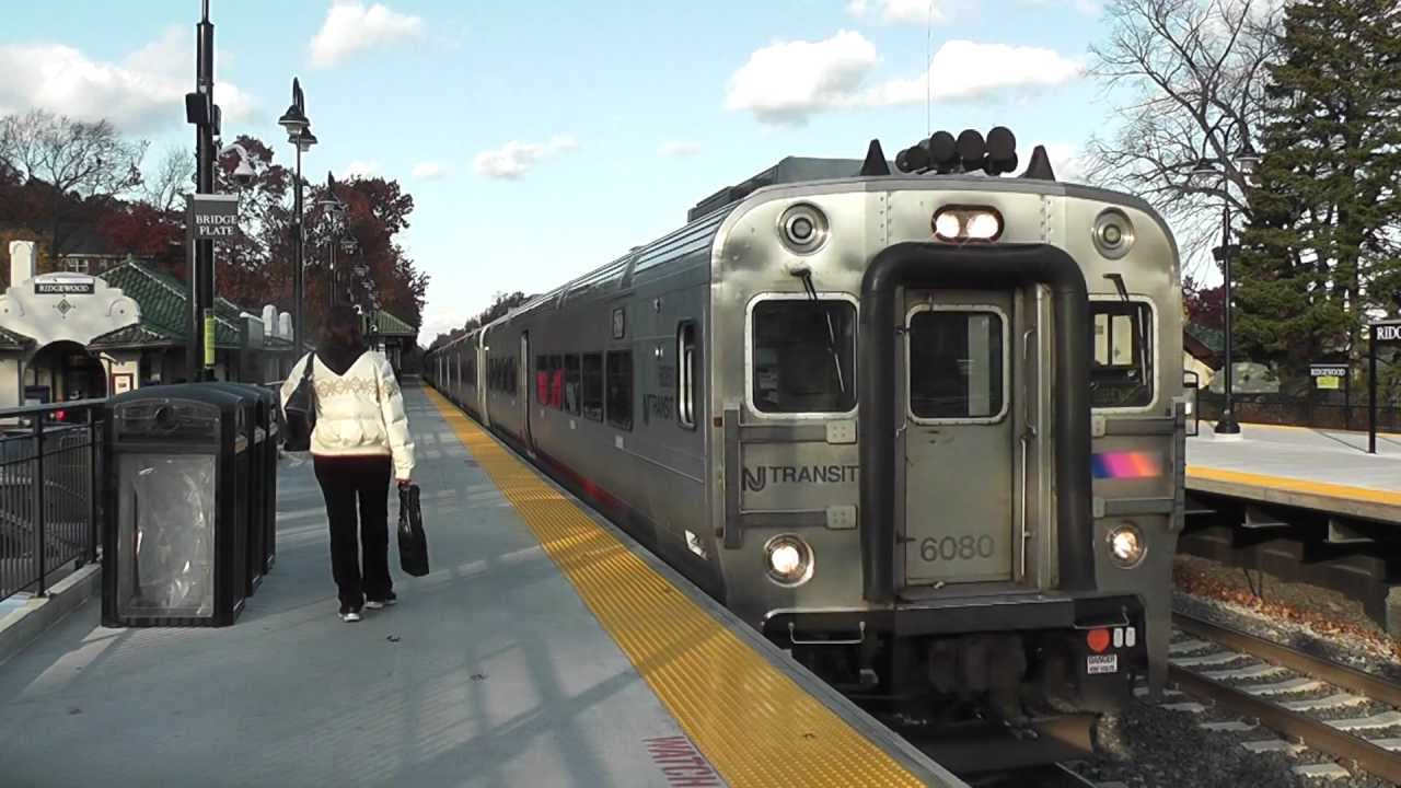 Nj Transit Comet V Cab Car 6080 Meets Pl42ac 4016 In