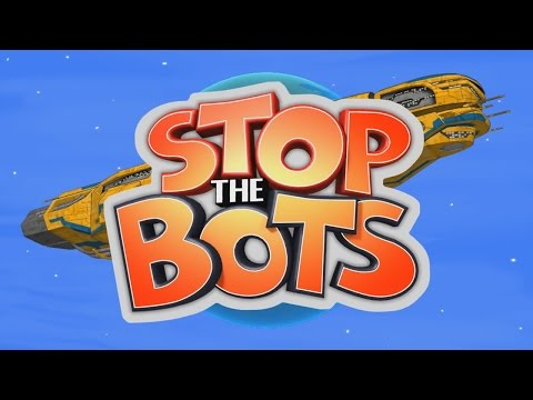 Stop The Bots - iOS / Android  / Windows Phone / Ouya - HD Gameplay Trailer