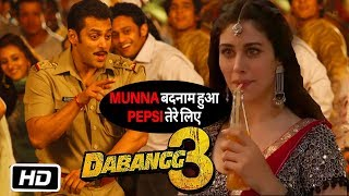 Dabangg 3: Munna Badnam Song | Salman Khan, Warina Hussain | Full Details