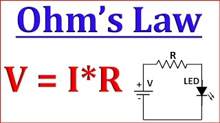Ohms law in Hindi || LED & Battery Connection With Ohm's Law -