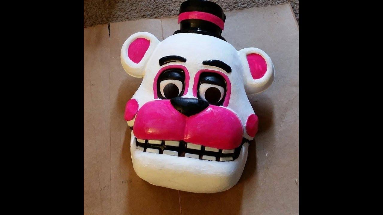 Fnaf freddy head for sale - Funtime Freddy Mask Speed Paint