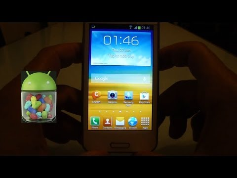 JELLY BEAN for Samsung Galaxy BEAM! leaked version out now!