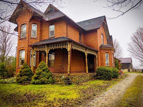 Abandoned Large Farmhouse With Barn. (Barn Explored!) Explore #4 Ontario, Canada