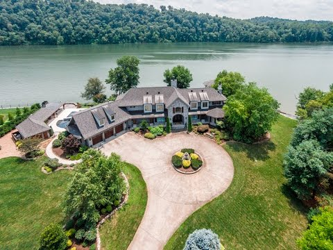 West Knoxville Luxury Waterfront Estate For Sale
