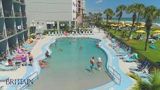 Brittainresorts.com relax in the zero-entry pool or float along lazy river at dayton house resort myrtle beach!