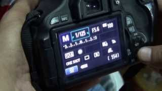 Features of Canon EOS 600D (Hindi) (720p HD)