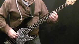 How To Play Bass Guitar To Teenage Dirtbag - Wheatus - Beginner