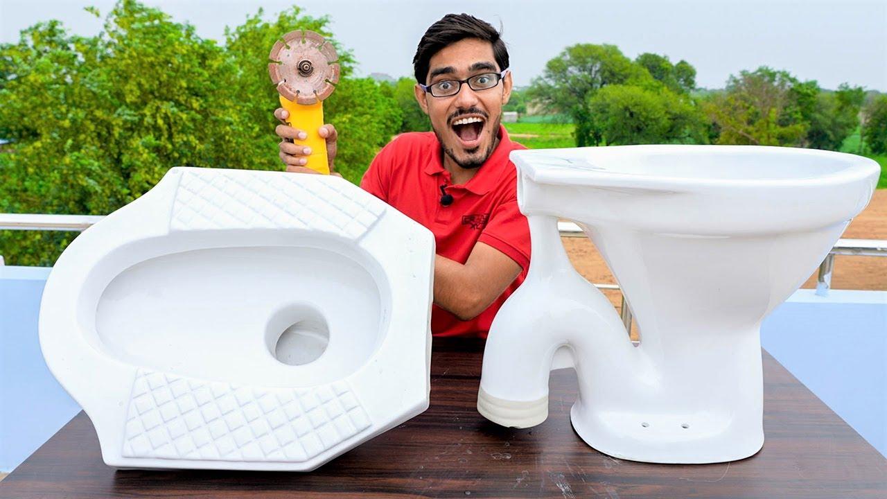 What Is Inside Toilet Seat? टॉयलेट सीट कैसे काम करती है? Must Watch Video