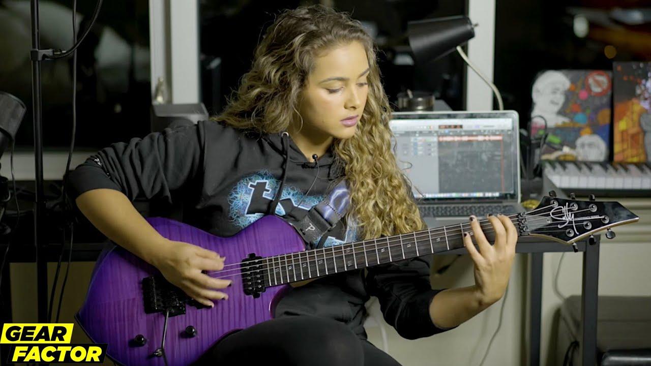 Download TikTok Star Zaria, Destroyer of Metallica Trolls, Plays Her Favorite Riffs