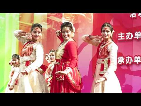 【Strawberry Alice】2016 Shanghai Tourism Festival: Folk Dance of India , Nanjing Road.