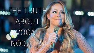 What Are Vocal Nodules? feat. Mariah Carey