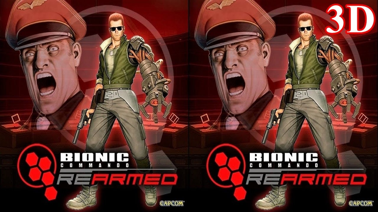 Bionic Commando  Rearmed 3D video 1 SBS VR box google cardboard