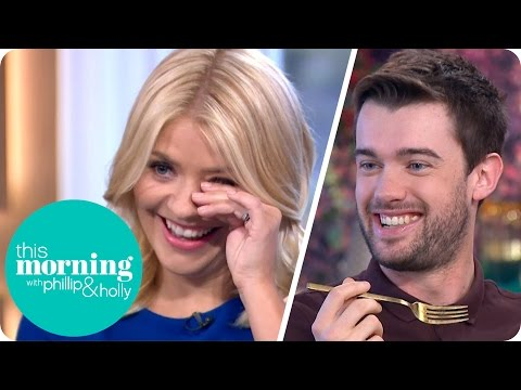 Jack Whitehall Shocks Everyone By Misbehaving With A Mug Of Carbonara  This Morning