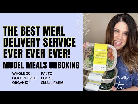 Model Meals Delivery Service Unboxing (whole30 / gluten free / paleo) | Krysten's Kitchen