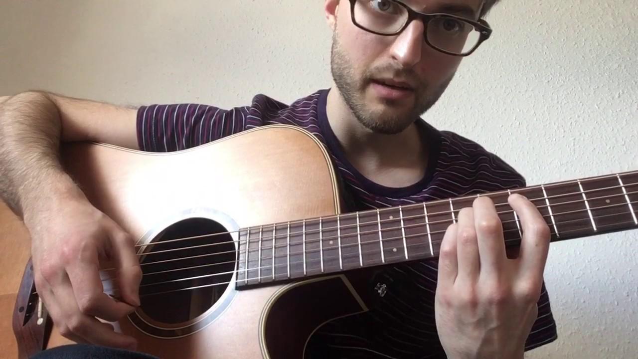 radiohead i promise guitar tutorial youtube. Black Bedroom Furniture Sets. Home Design Ideas