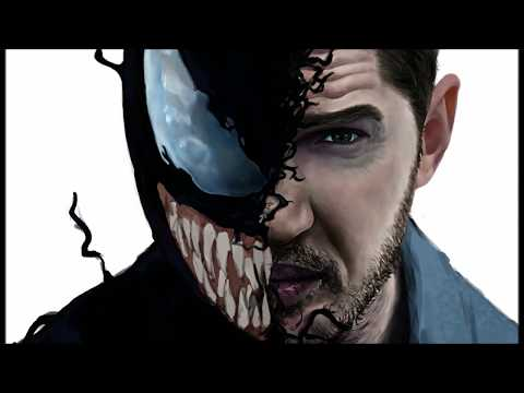 [그리다] 베놈 그림 그리기 [Grida] Venom Speed Painting