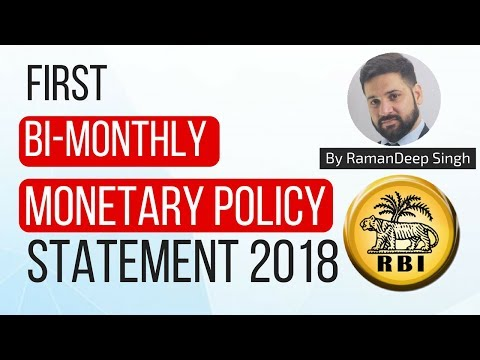 First Bi-monthly Monetary Policy Statement 2018 - Review