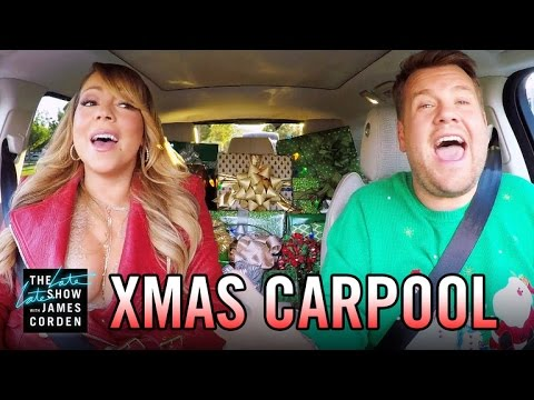 All I Want for Christmas' Carpool Karaoke - YouTube