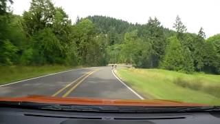 Dashcam | McKenzie View Drive to Mohawk, OR