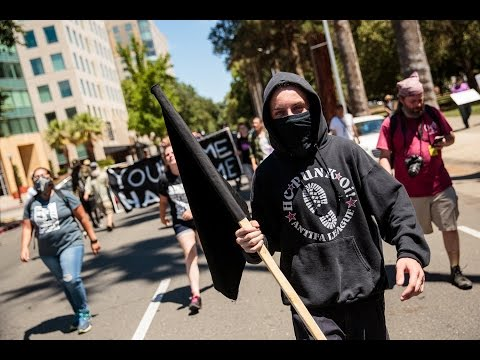 Bloody Sunday at white supremacist rally in Sacramento