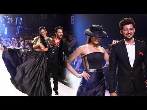 Darshan Raval And Manish Paul Ramp Walk At Bombay Times Fashion Week 2018