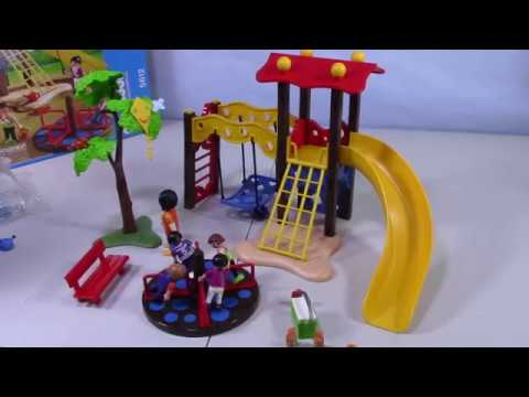 Playmobil City Life Playground Set to Build and Play