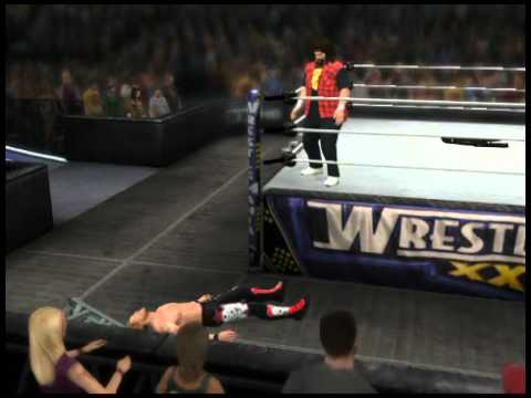 WWE 12: Big Boot Into Ladder